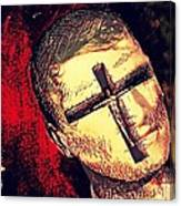 The Face Is Sowing Fertile Shadow Of The Cross Canvas Print