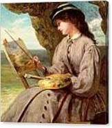 The Fair Amateur Canvas Print