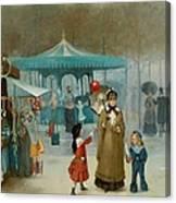 The Fairground  Canvas Print