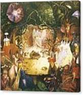 The Fairies Banquet Canvas Print