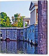 The Fairmount Waterworks In Philadelphia Canvas Print