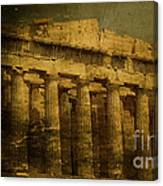 The Fall Of Athens Canvas Print