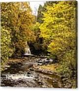 The Falls At West Burton Canvas Print