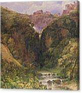 The Falls Of Tivoli Canvas Print