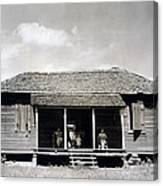 The Family Home Of Floyd Burroughs Canvas Print