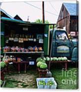 The Farmer's Truck Canvas Print