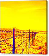 The Fence Line Canvas Print