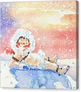 The Figure Skater 6 Canvas Print