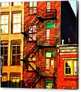 The Fire Escape Canvas Print