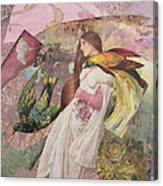 The Firebird S Pursuit  Canvas Print