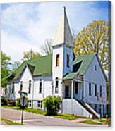 The First Christian Church Of Harriman 2 Canvas Print