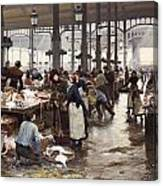 The Fish Hall At The Central Market  Canvas Print