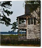 The Fishermans House Canvas Print