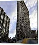 The Flat Iron Taxi Canvas Print