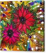 The Flowers In My Son's Garden Canvas Print