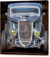 The Ford Grill Canvas Print