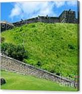 The Fortress At St. Kitts Canvas Print