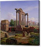 The Forum Rome  Canvas Print