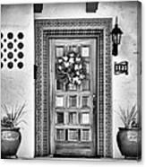 The Front Door Canvas Print