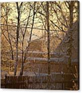 The Frosty Morning Canvas Print