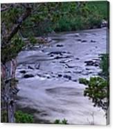 The Frozen Snake River Canvas Print