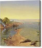 The Ganges Canvas Print