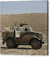 The German Army Atf Dingo Armored Canvas Print