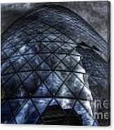 The Gherkin - Neckbreaker View Canvas Print