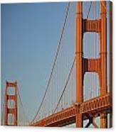 The Golden Gate Bridge At Dawn Canvas Print