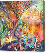 The Golden Jerusalem Canvas Print