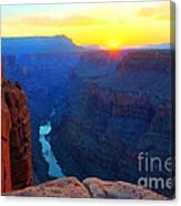 The Grand Canyon Solitude At Toroweap Canvas Print