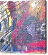 The Grand Musician Canvas Print