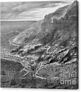 The Great Chicago Fire, 1871 Canvas Print