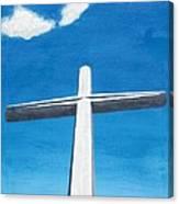 The Great Cross - Risen Canvas Print