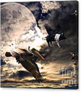 The Great Migration . Full Color Canvas Print