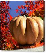 The Great Pumpkin And October Colors Canvas Print