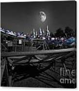 The Great Space Coaster Canvas Print