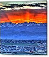 The Great Sunset Canvas Print