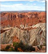 The Great Upheaval Dome Canvas Print