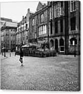 The Green Aberdeen Old Town City Centre Scotland Uk Canvas Print