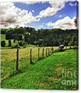 The Green Green Grass Of Home Canvas Print