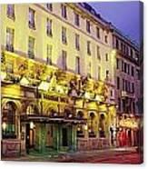 The Gresham Hotel Dublin, Oconnell Canvas Print