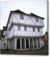 Thaxted Guildhall Canvas Print
