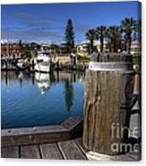 The Harbour At Mindarie Canvas Print