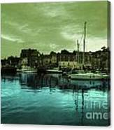 The Harbour At Padstow Canvas Print