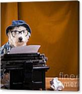 The Hard Boiled Journalist Canvas Print
