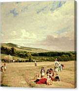 The Harvest Field Canvas Print
