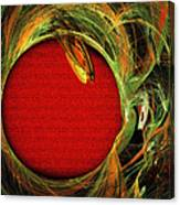 The Heart Of A Snake Canvas Print
