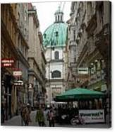 The Heart Of Vienna Canvas Print