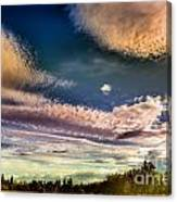 The Heavy Clouds Canvas Print